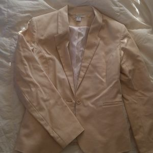 Katherine Barclay Blazer in Cream Size Small